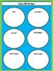 Class Birthdays Chart - Circles - Lime & Teal