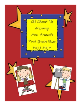Class Book:  All About Us (Getting to know your students)