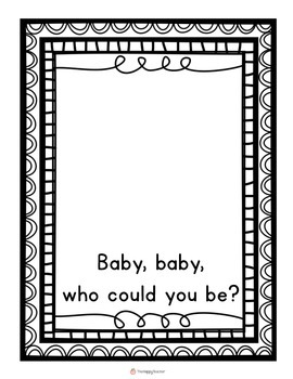 Class Book: Baby, Baby, Who Could You Be?  {Repeated Text}