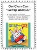 "Class Book Based on Nancy Carlson's ""Get Up and Go!"""