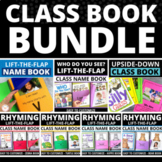 Class Book Bundle Make Your Own Class Books for Preschool and Kindergarten