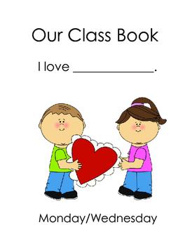 Class Book Cover (February)