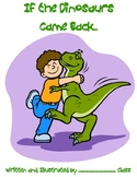 Class Book Cover for Dinosaur Theme