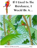 Class Book Cover for Rainforest Theme