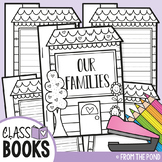 Class Book - House Shaped Book (Family Writing)