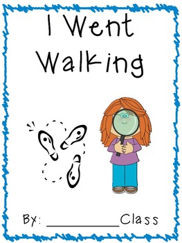 Class Pattern Book - I Went Walking
