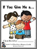Class Books: If You Give a Mouse a Cookie Class Book Reproducibles