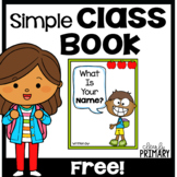 Class Book Free: Names