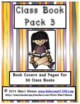 Class Book Pack 3