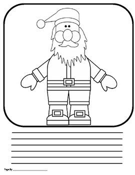 Class Book- Santa's New Suit