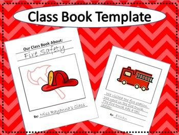 Class Book Template
