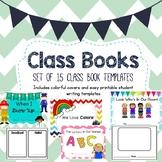Class Book Template Set