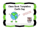 Class Book Templates: Earth Day