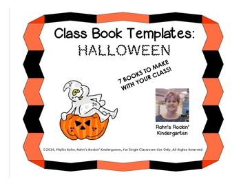 Class Book Templates - Halloween