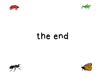Class Book Templates: Insects!
