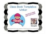 Class Book Templates-Winter