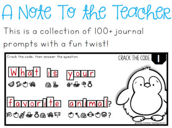 Crack The Code Journal Prompts (100+)