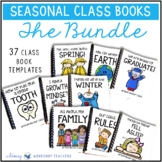 Class Book Templates for the Entire Year Bundle (37 Book T