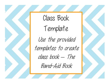 Class Pattern Book - The Band-Aid Book