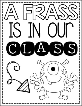 Class Book: There's a Frass in Our Class