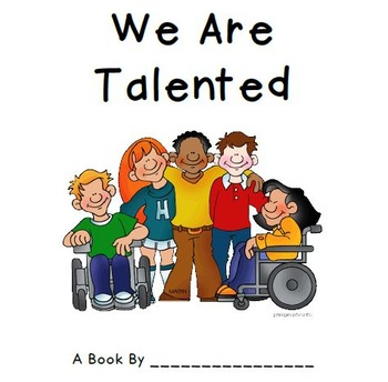 Class Book: We Are Talented