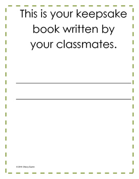 Class Book for Moving Student