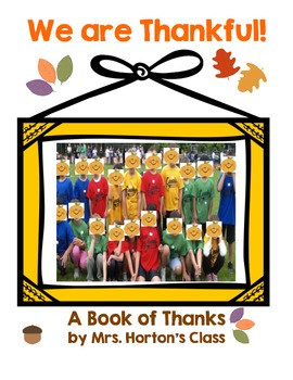 Class Book of Thanks