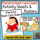Class Books: Book Care Rules based on What Happened to Marion's Book?