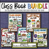 Class Books BUNDLE --- 30 Class Shape-Books for Every Mont
