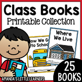 Class Books Pack - Simple and Limited Prep
