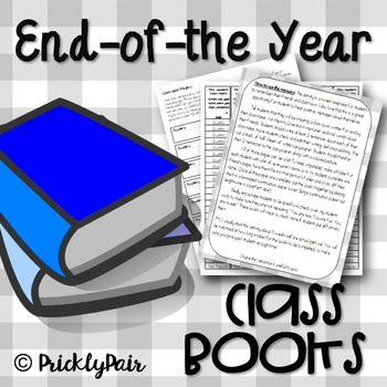 Class Books -End of the Year