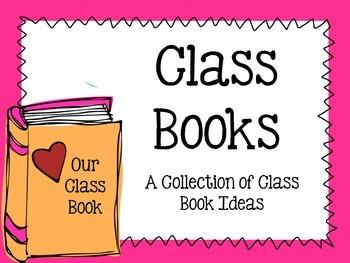 Class Books FREEBIE