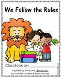 Class Books: Library Lion Class Book Reproducibles