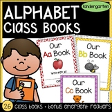 Class Books and Emergent Readers | Alphabet Practice A-Z