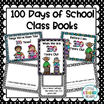 Class Books for the 100th Day of School: February