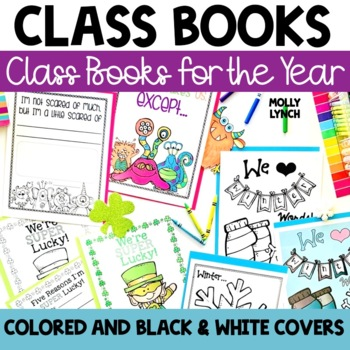 Class Books for the YEAR Bundle!
