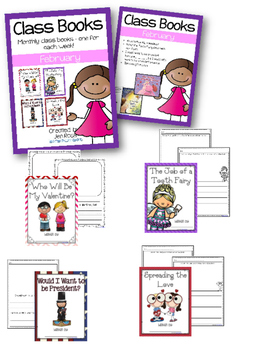 Class Books for the Year {February}