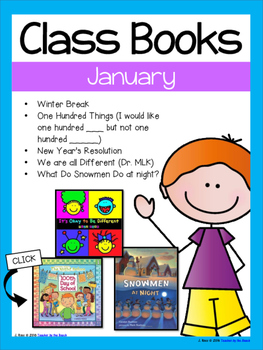 Class Books for the Year {January}