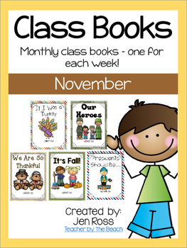 Class Books for the Year {November}