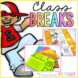Brain Breaks & Activity Cards for Classroom Management
