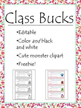 Class Bucks !