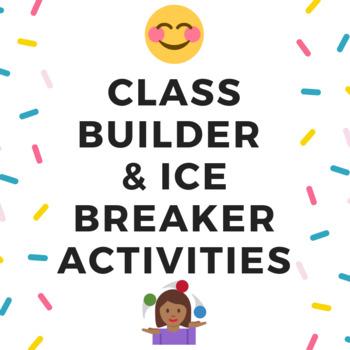 Class Builder & Ice Breaker Activities