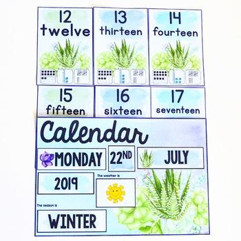 Cactus Class Calendar