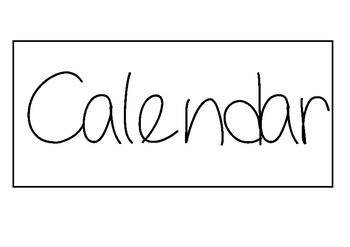 Class Calendar Display