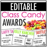 Class Candy Awards | EDITABLE