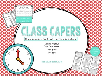 Class Capers