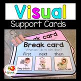 Calm Down Cards -  Autism-Behaviour Management