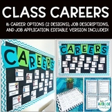 Classroom Jobs - Class Careers Bulletin Board and Job Application