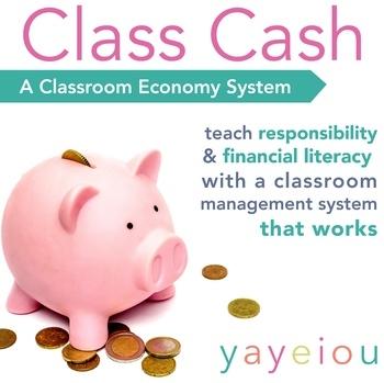 Class Cash - A Classroom Monetary System for Grades 3-8