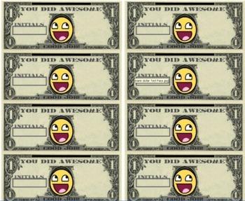 Class Cash Incentive Printout Freebie